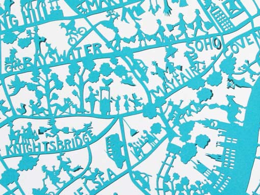 London-map-close-up