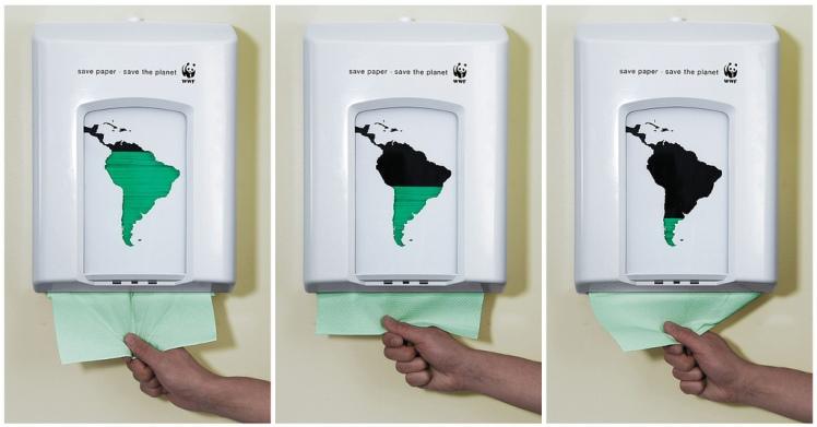 WWF papel higiénico